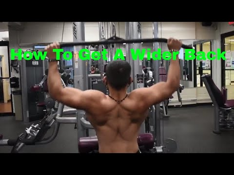 Must Do Exercises For A Wide Back!