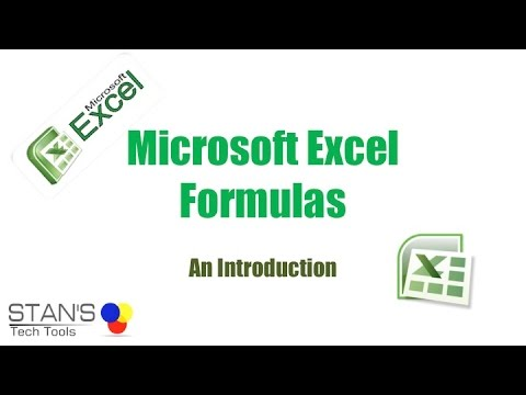 Microsoft Excel Formulas an Intro For Beginners | Formulas | Formating