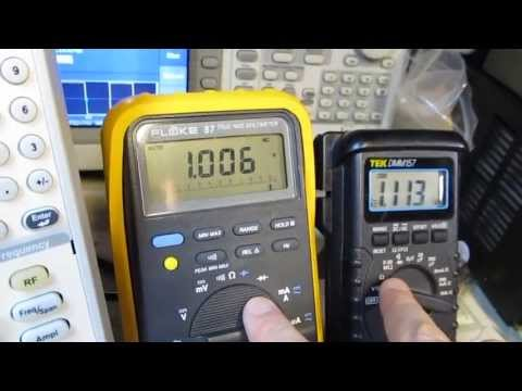 #94: RMS Voltage for Sine and square waves, and why your DMM might not work right!
