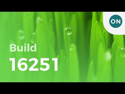 Hands on with Windows 10 build 16251, featuring
