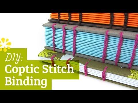 DIY Coptic Stitch Bookbinding Tutorial | Sea Lemon