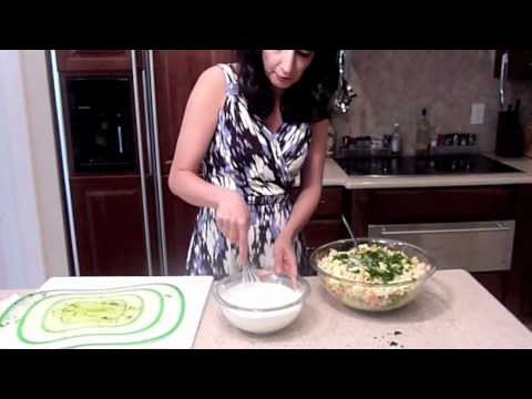 Persian Mom Cooking Olivieh or Olivier Salad ( Potatoes, Chicken, eggs Salad) - Episode 14