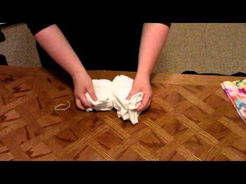Spiral Pattern Tie-Dye T-Shirt (How to tie)