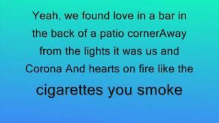 ryan hurd love in a bar lyrics