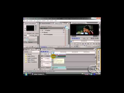 how to insert a video transition