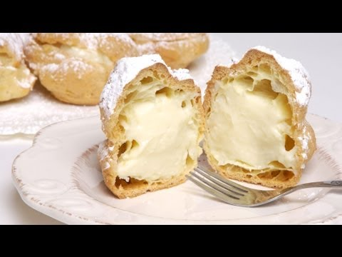 Homemade Cream Puffs and Eclairs (Med Diet Episode 47)