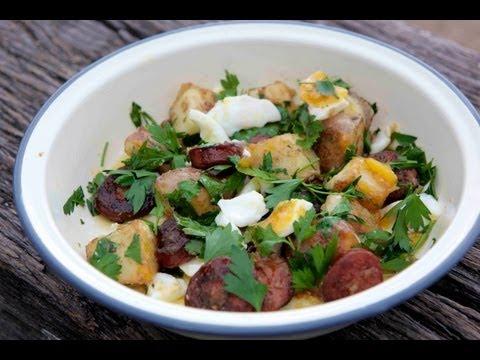 How to make Chorizo & Potato Salad - Sydney Harbour Kitchen Ep 4