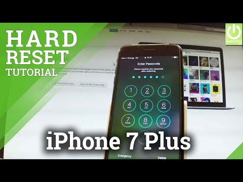 Hard Reset APPLE iPhone 7 Plus - Bypass Passcode