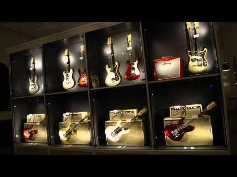 Guitars The Museum, Umeå: take a look inside with Guitarist