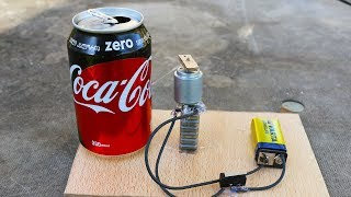 How To Make AWESOME Coca Cola Door Alarm