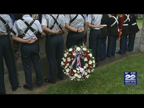 Springfield held Memorial Day ceremony at St. Michael's Cemetary