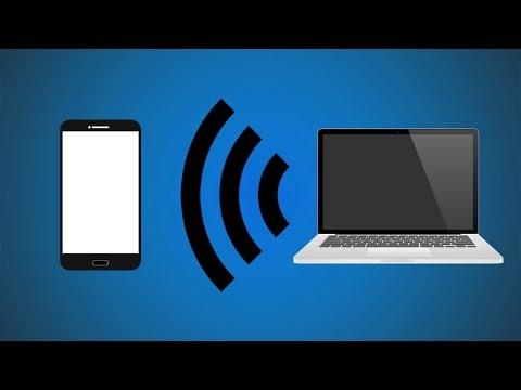 Reverse Tether - Make Computer Wifi Hostpot