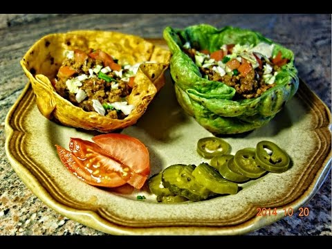 How to make Tostada Bowls from Tortilla Wraps | Homemade Tostada Bowls
