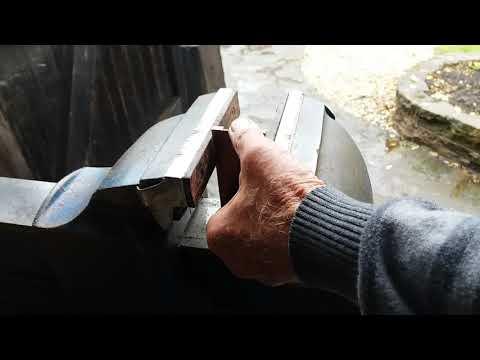 Part 14 Making a metal mitre plane.