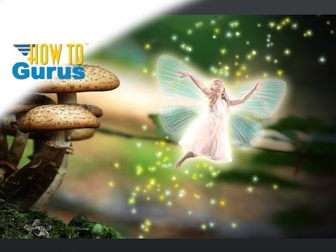 Photoshop Elements Art | Fairy Fantasy Photo Manipulation 2018 15 14 13 12 11 Tutorial