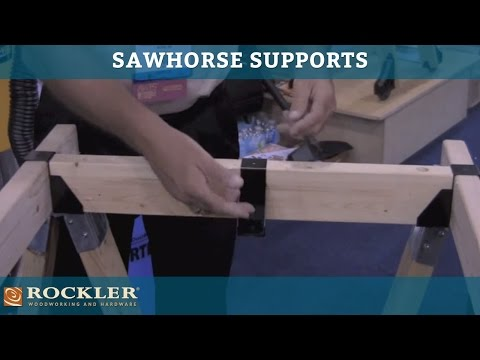 Sawhorse Supports at AWFS 2011 Presented by Woodworker's Journal