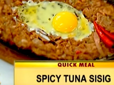 Quick Meal: Spicy Tuna Sisig (Good Morning Kuya 12-19-16)