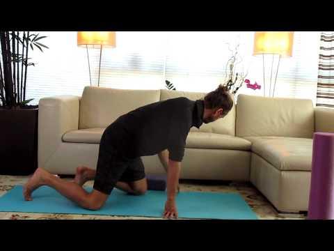 Childs Pose:  Yoga with matthew