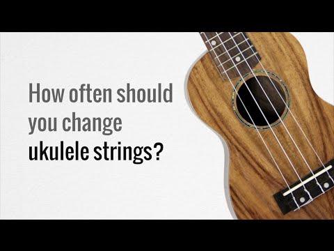How often should you change ukulele strings?