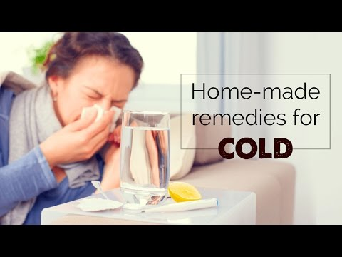 Home remedies for cold & cough cure | सर्दी-जुकाम | common cold | sore throat
