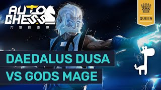 EPIC QUEEN RANK Dota Auto Chess HUNTERS Vs GODS MAGE   High Rank Replay Guide