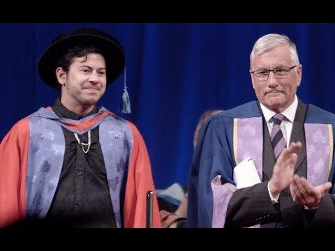 Fox Fisher, Honorary Doctorate Speech