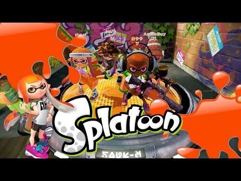 Splatoon - Orange is the New Black [Turf Wars] Wii U Gameplay, Commentary