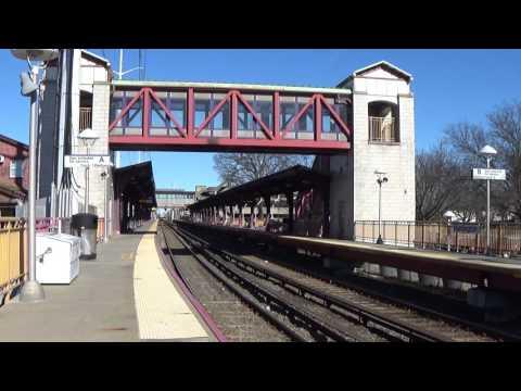 LIRR Huntington Station - Time Lapse of Train Change