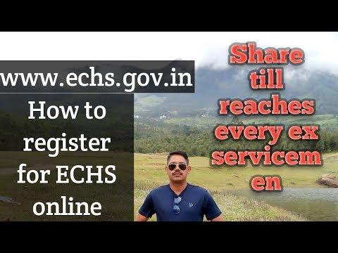 echs card online apply