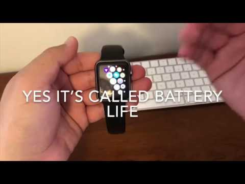 Apple Watch Battery Wear Level Test