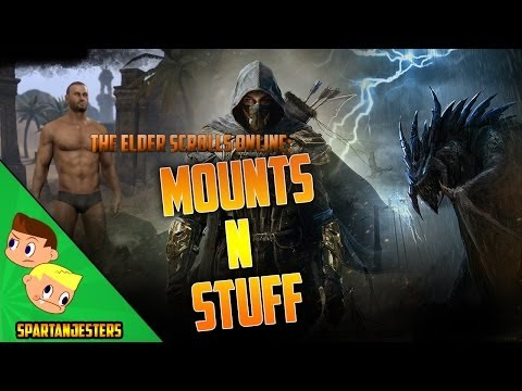 Elder Scrolls Online: How Mounts Work