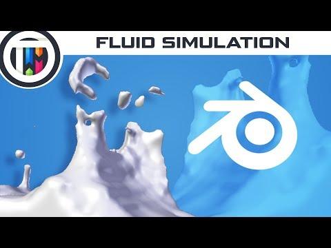 Blender Tutorial - Create a Fluid Simulation