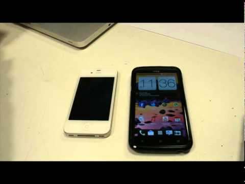 iphone 4s vs htc one x on battery life and day to day use