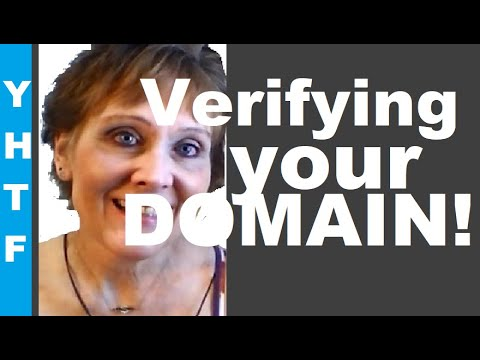 Verifying A Domain Name Without Access To The Root Directory    Mrs  Nacy Gurish