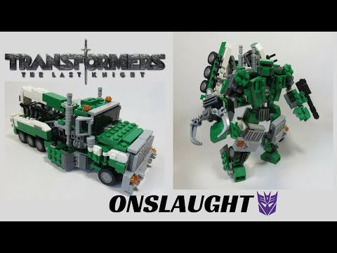 Lego Transformers 5 The Last Knight- Onslaught