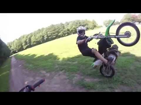 How to ride a manual Dirtbike (for beginners)