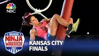 Maggi Thorne at the Kansas City City Finals - American Ninja Warrior 2017