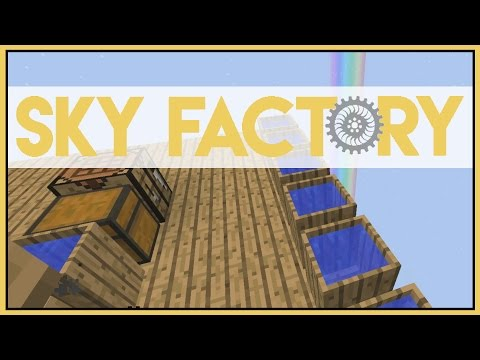How to Barrel - Minecraft Skyfactory 2.5 - Ep 2 [Let's Play Sky Factory 2.5]