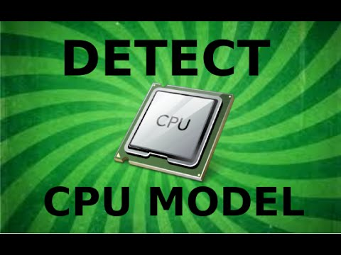 Detect your CPU model in Linux Mint 17 (and Ubuntu)