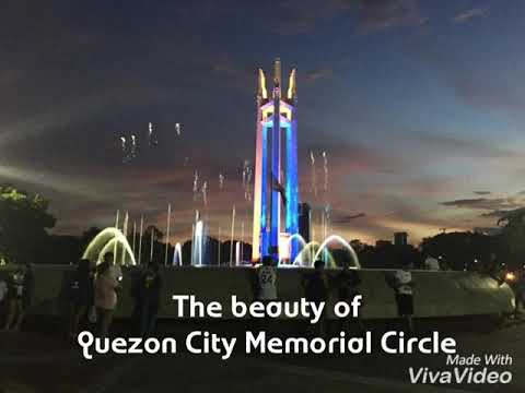 The beauty of Quezon Memorial Circle