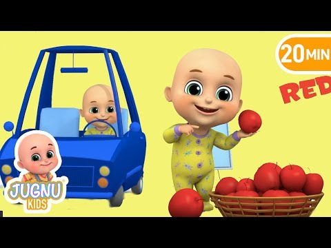 Color Song - Color Learning Song for Kids - Nursery Rhymes from Jugnu Kids