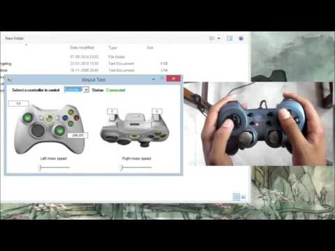How to play any game with PC or usb controller or gamepad 100% works 2015