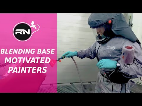 Blending Basecoat & Paint Application