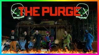 GTA ONLINE THE PURGE: INAUGURATION DAY 2017 SPECIAL - PROTECT THE PRESIDENT, SCARY LOCATIONS & MORE!