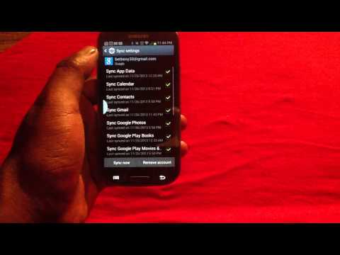 How to Remove Gmail from Samsung Galaxy S3