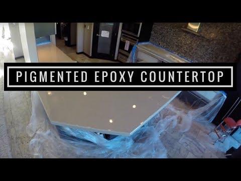 Pigmented Epoxy Countertop Coating using Leggari Products