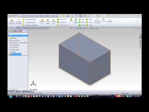 How to change the PLANE in a SolidWorks drawing