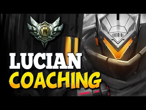 LUCIAN COACHING - SILVER 4 (League of Legends)