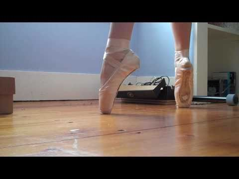 Ballet Pointe Shoe Practice