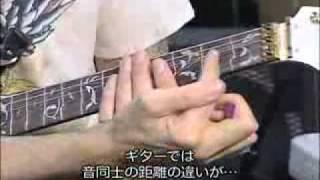 Steve Vai muestra sus Ibanez JEM, y una muy especial con el sistema True Temperament